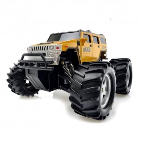 RC mašinėlė su pultu Monster Truck | Radijo bangomis valdomi žaislai