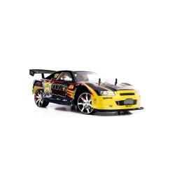 RC mašinėlė su pultu Nissan Skyline GT-R Rockstar | Radijo bangomis valdomi žaislai
