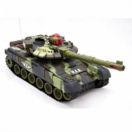 RC mašinėlė su pultu tankas WAR TANK 9993