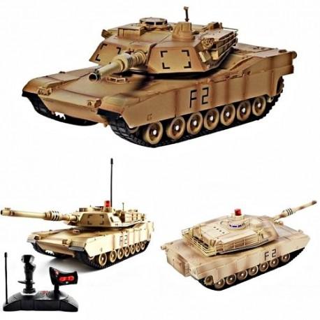 RC mašinėlė su pultu tankas MIA2 ABRAMS