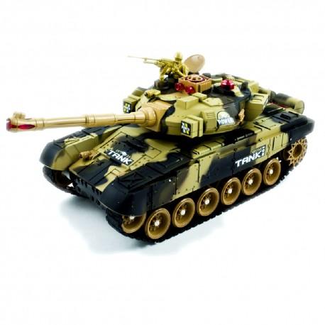 RC mašinėlė su pultu tankas Big War 9995
