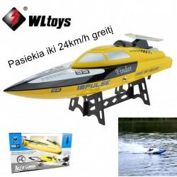 Radijo bangomis valdomas laivas WLtoys WL912