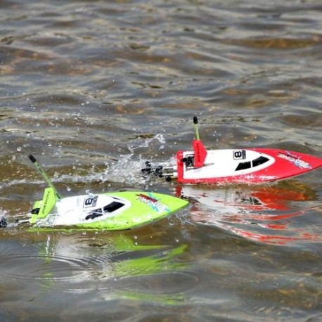 Radijo bangomis valdomas laivas Racing Boat FT008