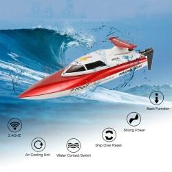 Radijo bangomis valdomas laivas Racing Boat FT007