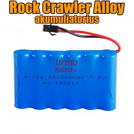 RC mašinėlės Rock Crawler Alloy akumuliatorius
